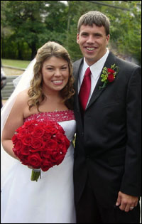 Sarah Hicks '04 and Greg O'Neil '05 wedding photo