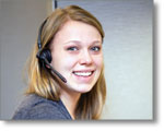 Photo: Phonathon caller Katherine Wadleigh