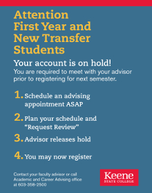 Required Advising Poster