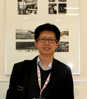 Prof. Yuan Pan at the Bologna Children's Book Fair 2014