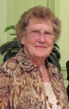 Winnie Langtry '52 — Sprague W. Drenan Award