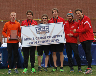 The Men's Cross Country Team