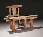 A piece from the Furniture Masters exhibit