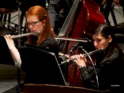 Concert Band performs in concert twice a semester in the Main Theatre.