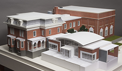 A photo of the model doesn't do it justice. Stop by the Keene Public Library and see the real thing.