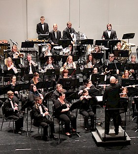 The Keene State College Concert Band