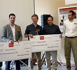 Two SPDI Students Win Fenton Family Dealerships Design Award and Scholarship
