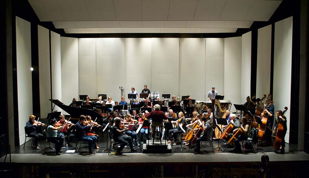 KSC Orchestra performs.
