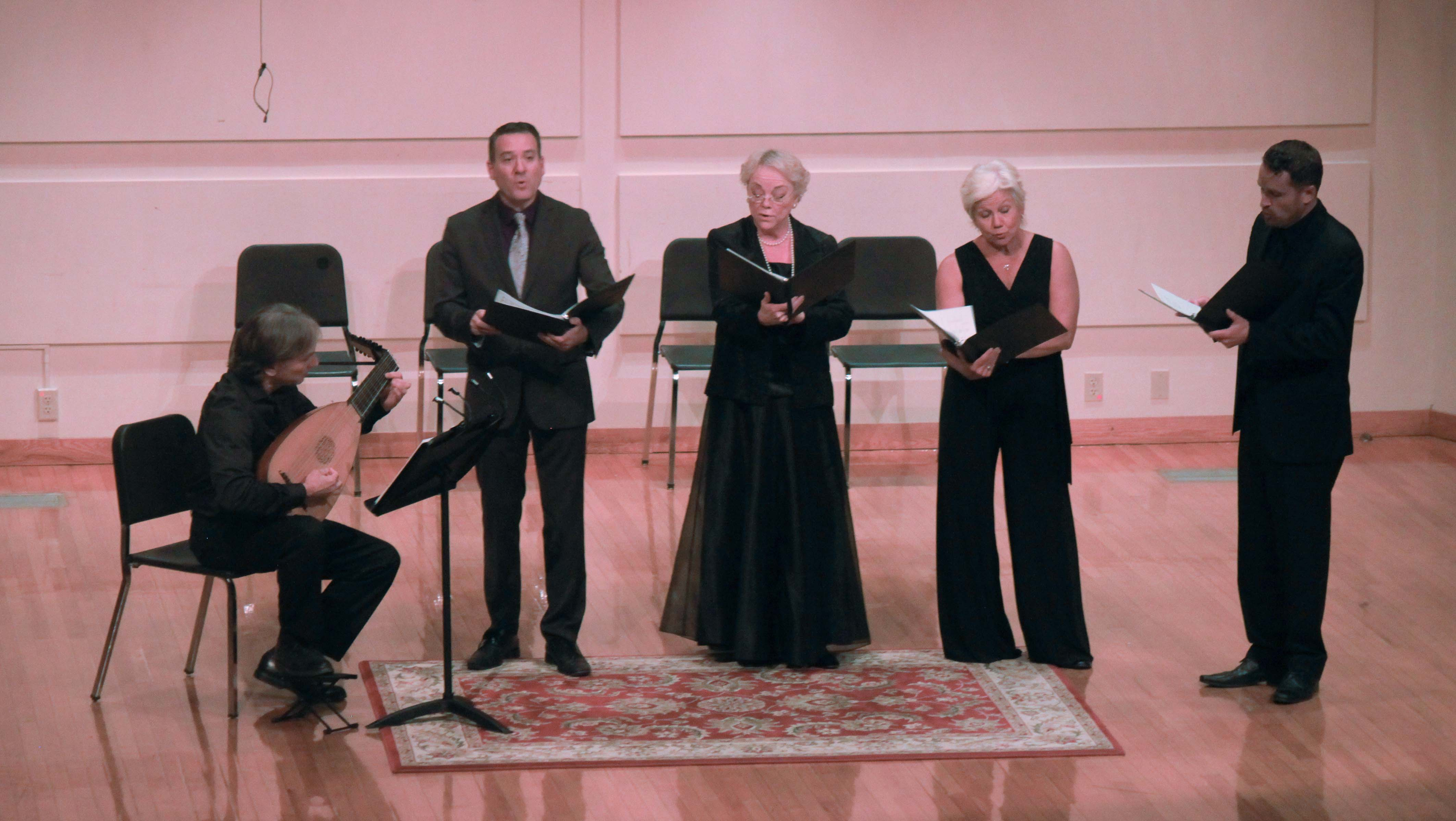 Faculty perform works composed by other faculty