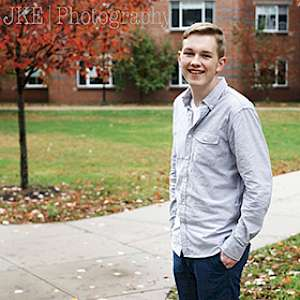 Communication and Film major Dan Stavens