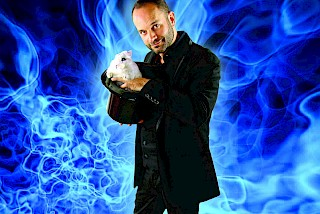 Jason Purdy performs magic and illusion for the entire family on Oct. 7.