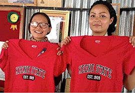 We're Coming to Keene State – from Nepal!