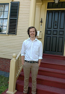 Tyler Croteau: Sharing His Love for History and Politics at the Wyman Tavern