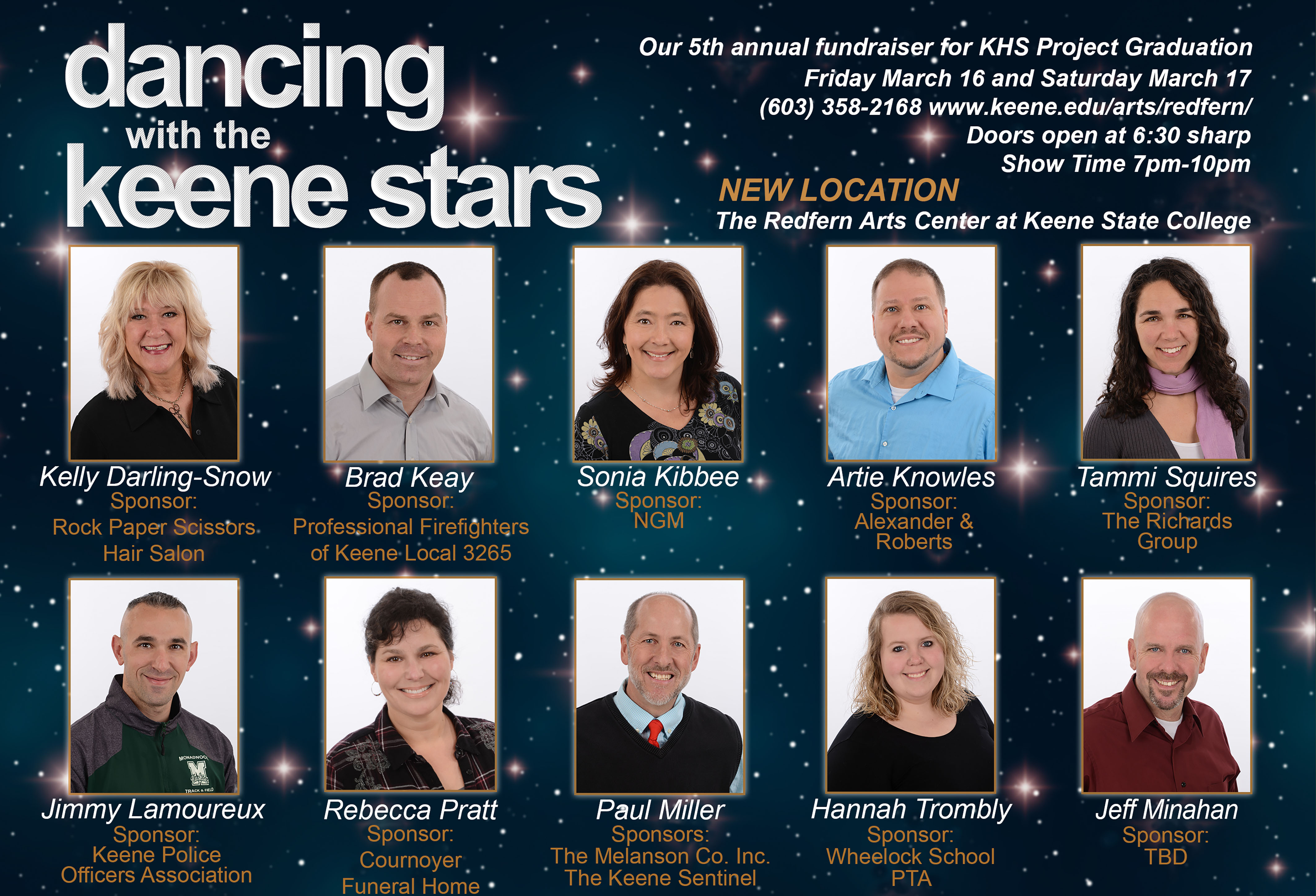 Dancing with the Keene Stars 2018