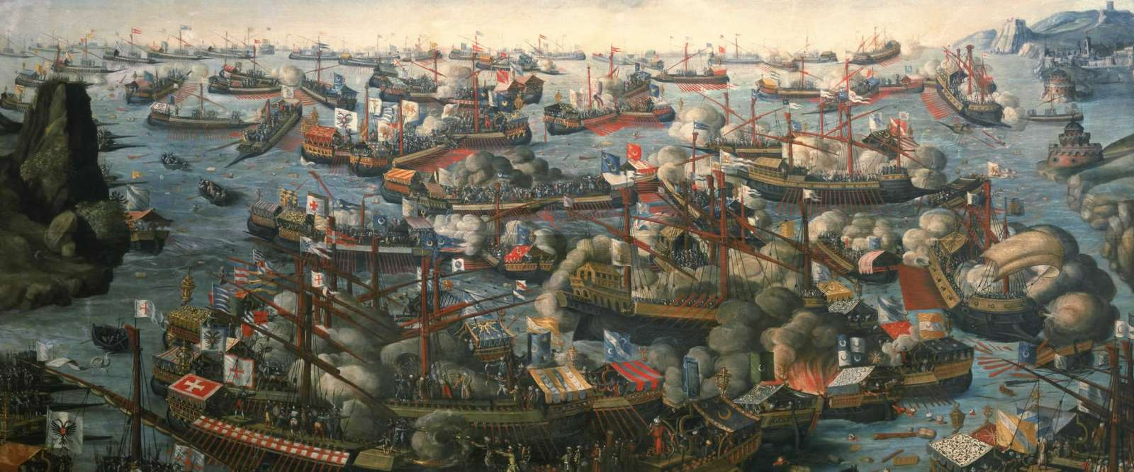 Battle of Lepanto,1571