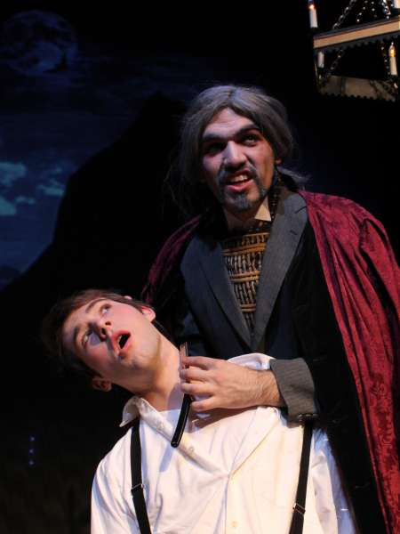 Theatrical performance of Dracula