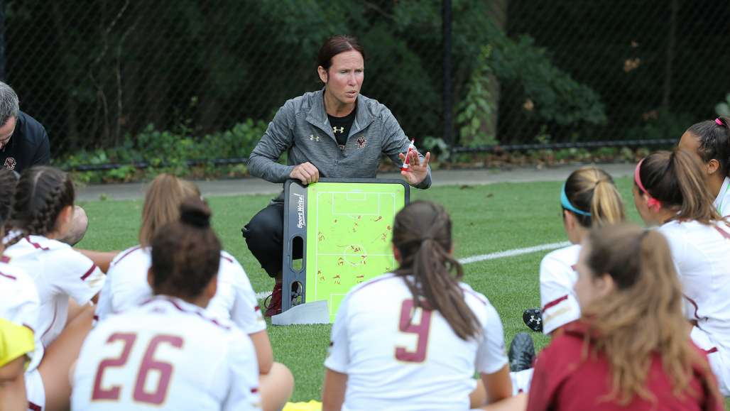 Boston College Women's Soccer Coach Alison Foley '92