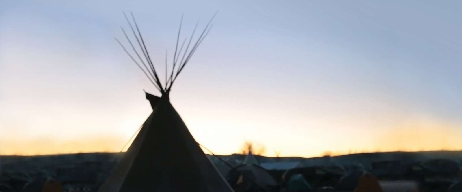 Teepee at Standing Rock