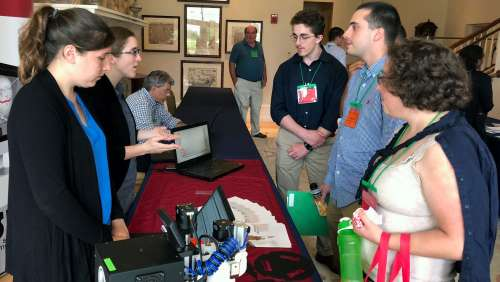 Keene State Students Present Their Biomedical Research and Network with Peers and Employers