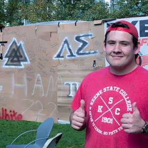 Fraternity Participates in Fundraising Event to Fight Hunger and Homelessness