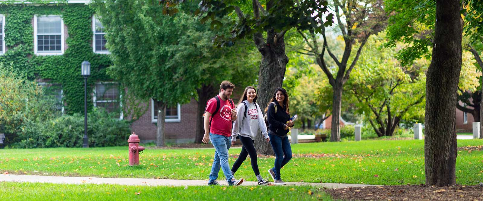 Walking Trails · Student Life · Keene State College on