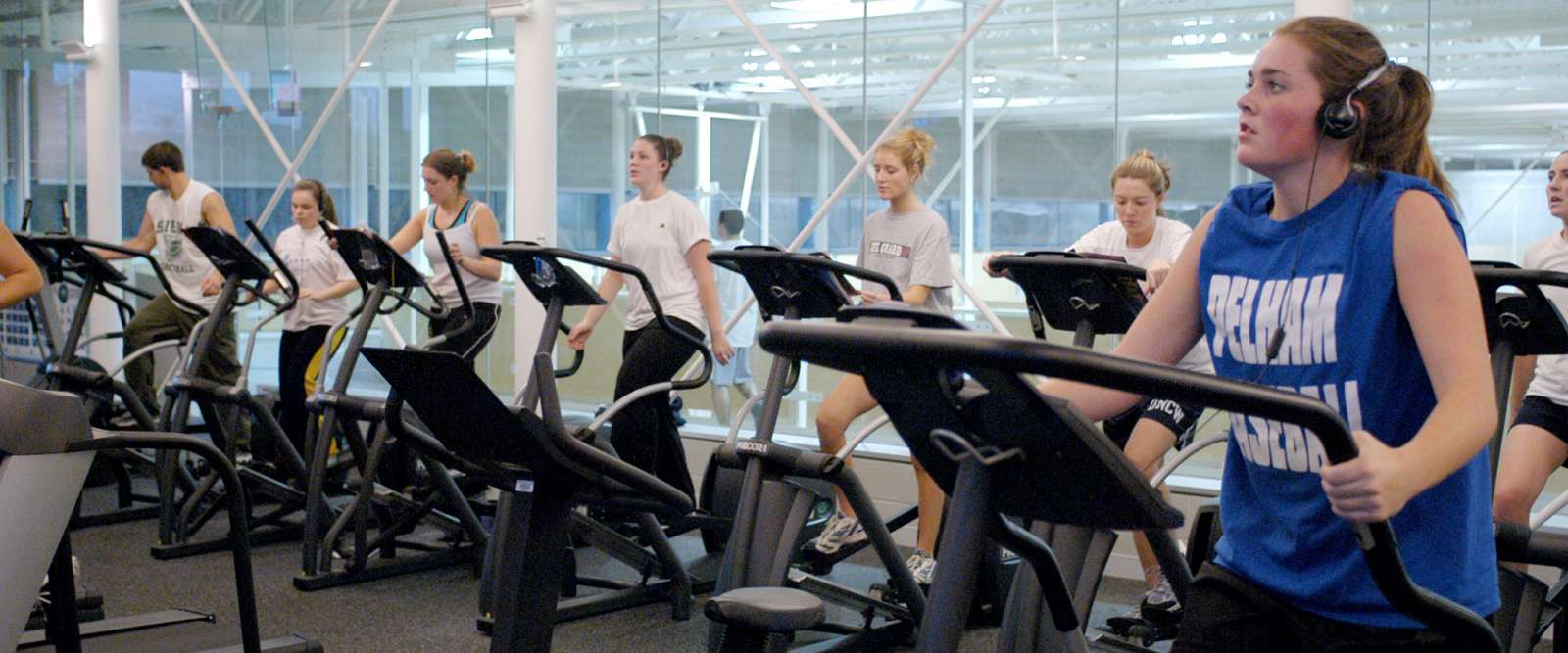 Recreational Sports: Jog Machines