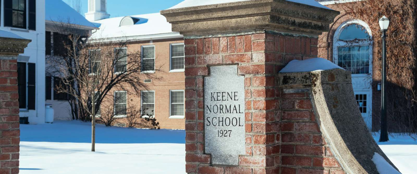Keene Normal School plaque
