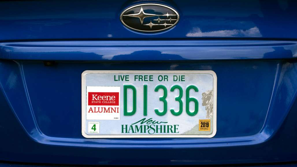 KSC Alumni License plate