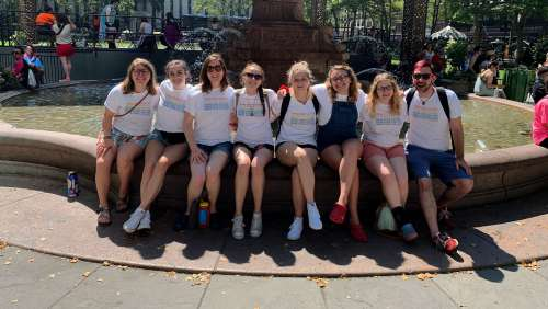 Students Travel to New York City for AIDS Activism and World Pride