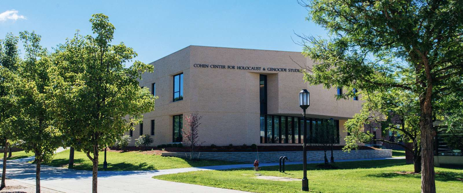 Cohen Center for Holocaust and Genocide Studies, exterior