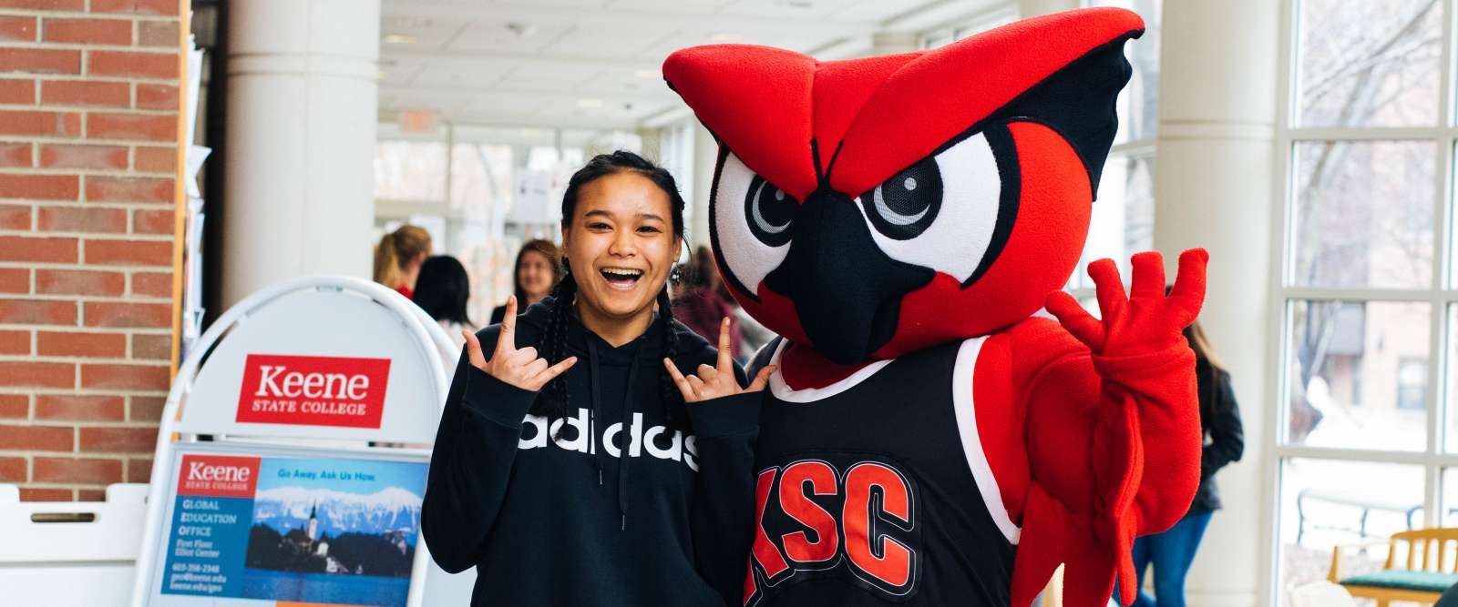 Hootie and prospective student