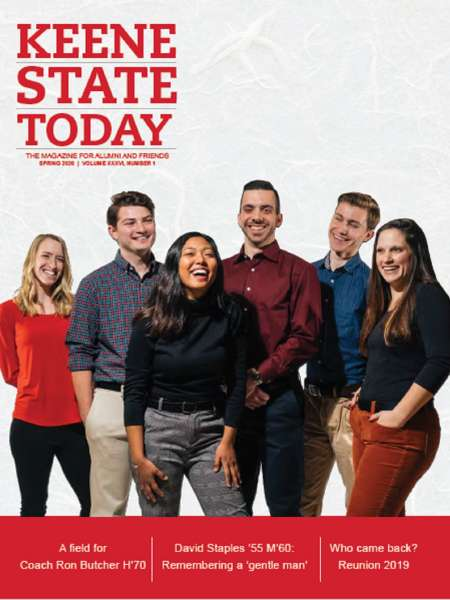 Keene State Today cover Spring 2020