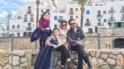 Professor DiGiovanni and family