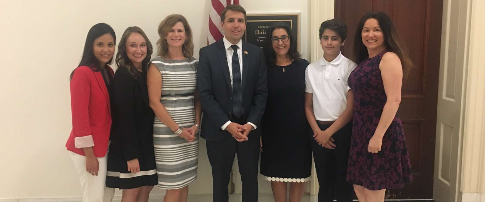 Keene State Dietetic Students with Congressman Chris Pappas