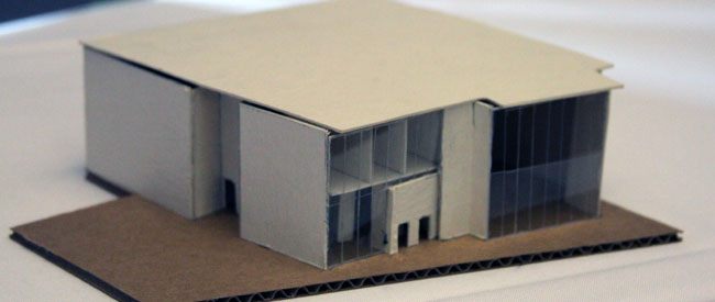 Model of building