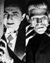 Dracula / Frankenstein Double Feature